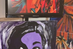 RawArtists Showcase Houston Art of Maya Imani Watson