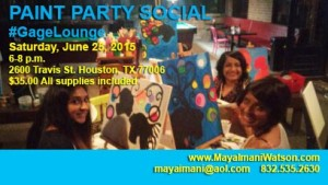 PAINT PARTY SOCIAL @ GAGE LOUNGE