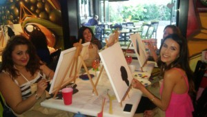 Paint Party Social@Darwin's Theory_Maya ImaniWatson_3